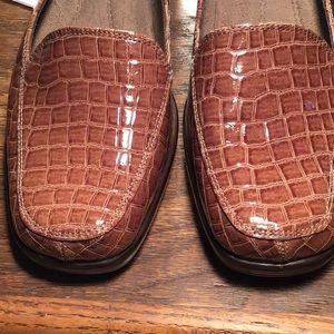 Aerosoles Final Exam Croc Loafers Sz 9M